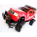 Carrinho Controle Remoto Jeep Bateria Recarregável