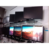 Monitor Lcd 19 Polegadas Marca Lenovo E Hp Wide Semi Novo