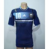 Camiseta Argentina Suplente Techfit 2012/2013 Messi 10