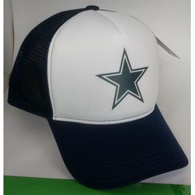 Boné Dallas Cowboys Nfl Trucker De Tela Aba Curva Top