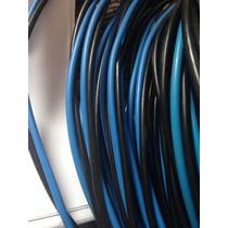 Cabo Duas Vias Encapadas Duplex Aluminio 2x10mm 200 Metros