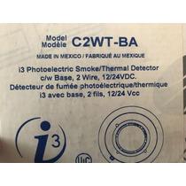 Detector De Humo Photoelectrico/térmico 2 Hilos, 12/24 Vcc