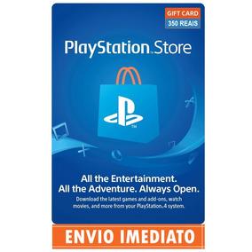 Cartão Playstation Psn Brasil 350 Reais (r$ 250 + R$ 100)