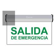 Cartel Salida De Emergencia Led Luminoso 220v 3hs Autonomia