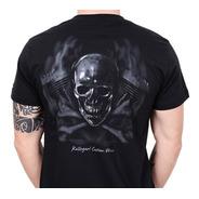 Camiseta Kallegari Cross Bones Moto Custom Harley