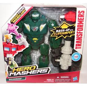¡excelentes! Transformers Hero Hasbro ( Bulkhead )