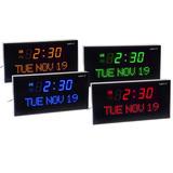 Reloj Ivation Jid0212grn Digital Grande Con Día Y Fecha Led