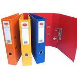 Bibliorato Forrado Color A4 Oficio 1°marca Pvc Pack X10