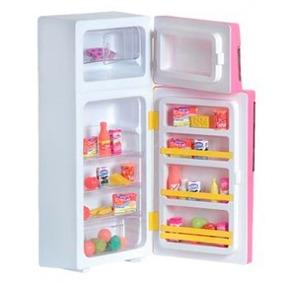 Brinquedo Infantil Geladeira Duplex - 203 Lua De Cristal