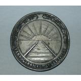 Antigua Medalla En Alpaca Ferrocarriles Argentinos 6,7 Cm