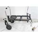 Cadeira De Rodas Para Cachorro 8 A 15 Kg Com 4 Rodas Andador