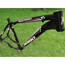 Quadro Bicicleta Alum. Mosso Panther 26 T18 Preto 007339