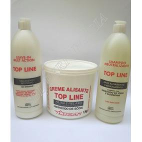 Top Line Kit Relaxamento Alisante Hidróxido Sódio Masc/femin