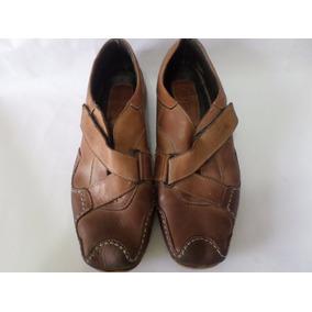 Zapatos Paco Ricardi En Cuero Usados