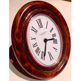 Reloj Despertador Cartier De Escritorio Oval 100% Auténtico