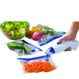 Seladora A Vacuo Portátil Alimentos Tec Home Kit 9embalagens