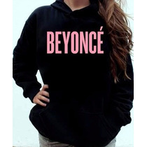 Blusa Moletom Beyoncé Canguru Com Capuz