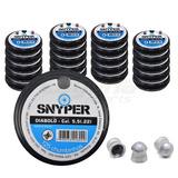 Kit 20 Caixas Chumbinho Snyper 5,5mm C/125 Un