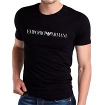 Remera Original Emporio Armani 100% Cotton Super Suaves