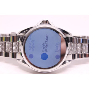 Michael Kors Digital Smartwatch Access Prata Pedras Mkt5000