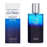 Cool Water Night Dive Hombre 125ml Edt Silk Perfumes