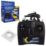 Volantex 6ch Vuelo Simulador De Juego Mosca Para Rc Avión...