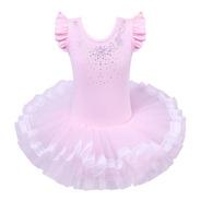 Vestido Infantil Bailarina Profissional Saia Renda Armada