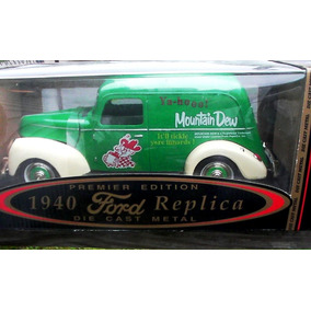 1940 Ford Pick Up Delivery Mountain Dw Green Escala 1:18 Gw