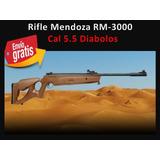 Rifle Deportivo Mendoza Rm-3000 Cal.5.5 Envio Gratis