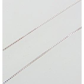 Corrente Veneziana Em Ouro Branco 18k 45 Cm - Paris Joias R