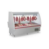 Balcão De Carnes Refrigerado Com Depósito Gelopar Pop 220v
