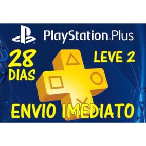 Playstation Plus Psn 28 Dias - Ps4, Ps3 - Envio Imediato