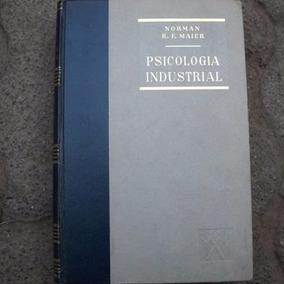 Psicología Industrial Norman R. F. Maier Libro Pasta Dura
