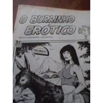 Revista O Burrinho Erótico (quadrinhos Erótico) Gilimeros
