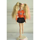 Barbie Porrista Mattel Original Muñeca Coleccion