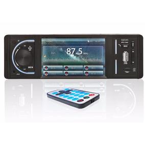 Mp4 Mp3 Multimídia Player Automotivo Usb Fm Bluetooth Tela 4