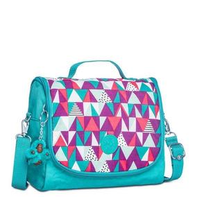 ac21406c1 Mochila Kipling Vibrant Deco - Calçados, Roupas e Bolsas Azul no ...