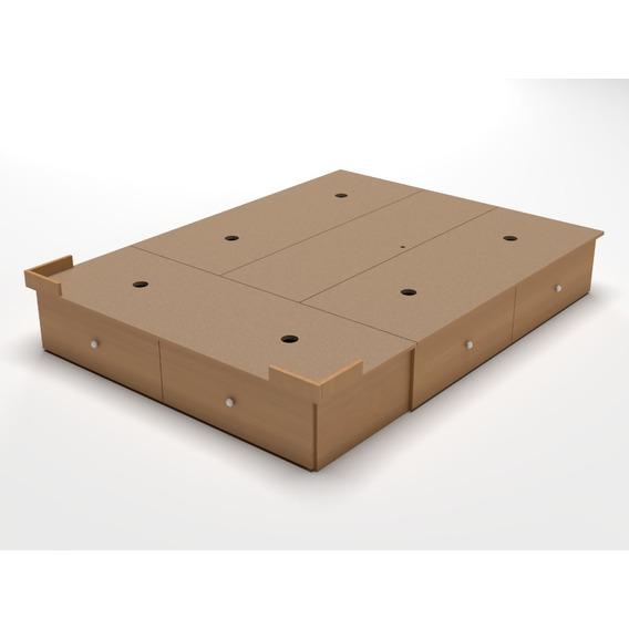 Base Box Sommier 6 Cajones 2,00 X 1,80 Somier King Size