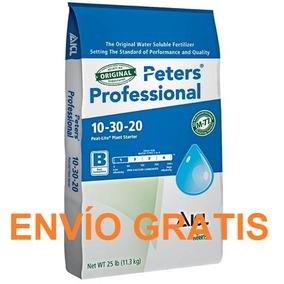 3 Kg Peters Fertilizante Floración 10 30 20 Abono