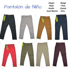 Pantalon De Niño Mayoreo Corrida Completa 4,6,8,10,12,14,16