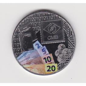 Medalha Colorida Casa Da Moeda