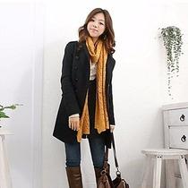 Abrigo Color Negro Para Mujer, Talla Mediana