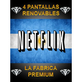 Cuentes Neflix 4pantalls Personalizadas. La Fabrika