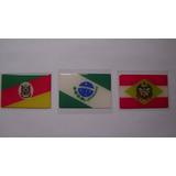 Todas As Bandeiras Da Região Sul Do Brasil 6x4cm - Sle