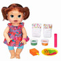 Baby Alive Comiditas Divertidas Morena 30 Frases Hasbro