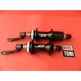 Par Cubos Shimano Deore Xt 32 Furos Fh-m8000 Centerlock 9mm