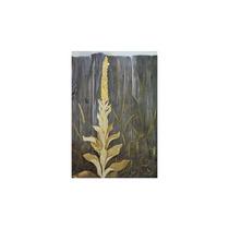 Pintura Arte Flowering Plant Against A Fence Art, 30 X40