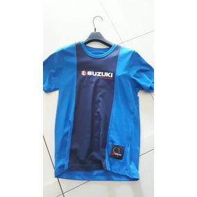 Camiseta Suzuki Azul