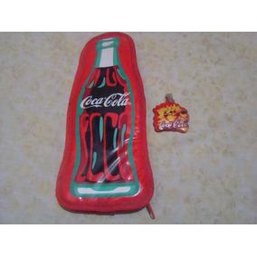 Llavero Y Cartuchera De Coca Cola Impecables Año 95 Aprox.