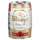 Barril De Cerveza Bitburger De 5 Litros Importado